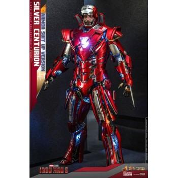 Iron Man 3 Movie Masterpiece Action Figure 1/6 Silver Centurion (Armor Suit Up Version) 32 cm