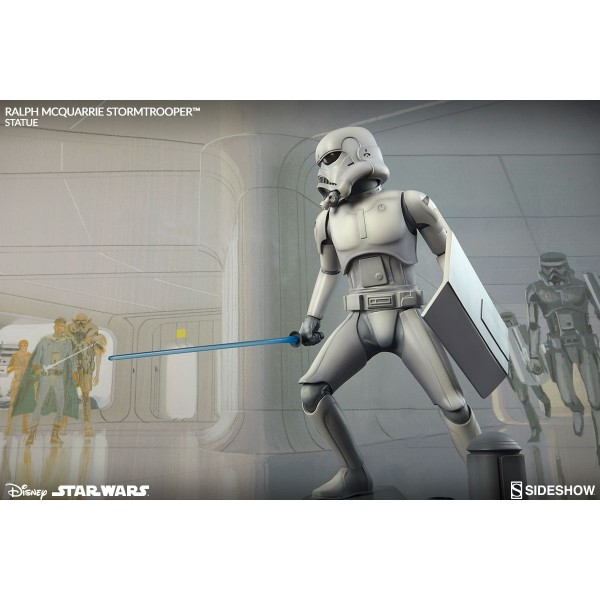 Star Wars Concept Artist Series Ralph Mcquarrie Stormtrooper Statue