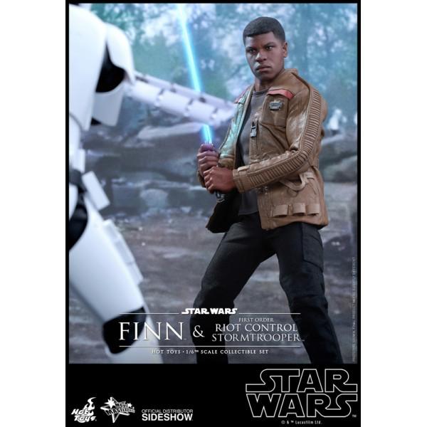 Star Wars Episode Vii Mms Action Figure 2 Pack 1 6 Finn