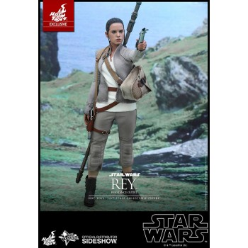 Star Wars Episode VII MMS Action Figure 1/6 Rey Resistance Outfit Hot Toys Exclusive 28 cm