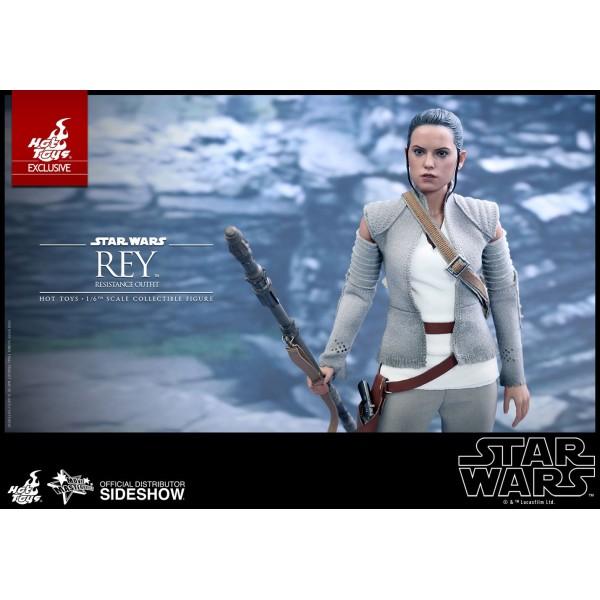 Monkey Depot - Boxed Figure: Hot Toys Star Wars Rey
