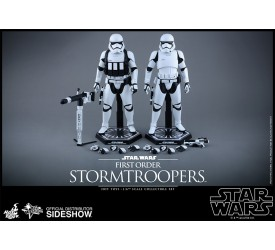 Star Wars Episode VII Movie Masterpiece Action Figure 2-Pack 1/6 First Order Stormtroopers 30 cm