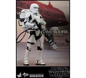 Star Wars Episode VII Movie Masterpiece Action Figure 1/6 First Order Flametrooper 30 cm