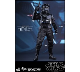Star Wars Episode VII Movie Masterpiece Action Figure 1/6 First Order TIE Pilot 30 cm