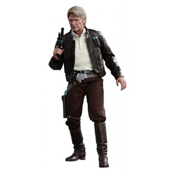 Star Wars Episode VII Movie Masterpiece Action Figure 1/6 Han Solo 30 cm