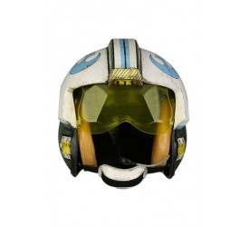 Star Wars Rogue One Replica 1/1 General Merrick Blue Squadron Helmet Accessory Version