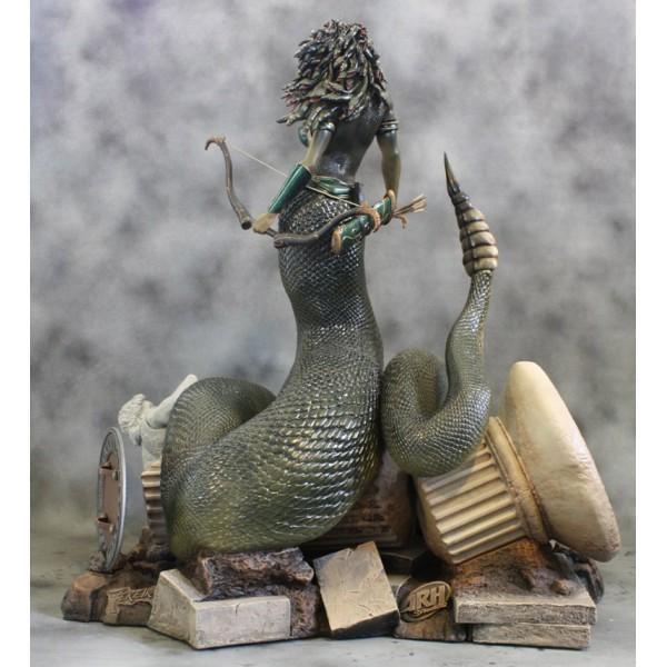 Arh Studios Statue 1 4 Medusa Snake Tail 71 Cm