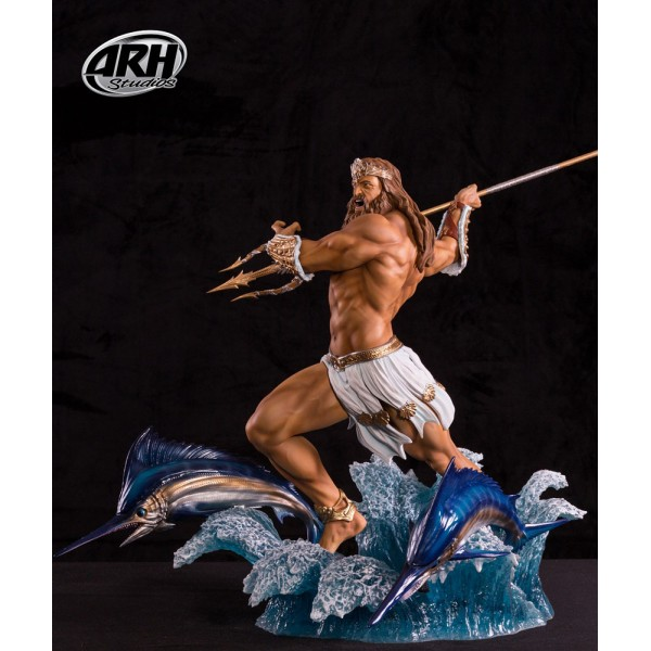 Arh Studios Statue 1  4 Poseidon Regular Version 50 Cm