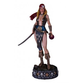 Arhian Head Huntress Statue 1/4 Arhian Pirate 58 cm