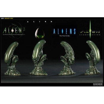 Alien 4-Piece Bust Set Scale 1/8