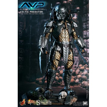 Alien vs Predator Movie Masterpiece Action Figure 1/6 Celtic Predator 36 cm