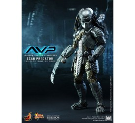 Alien vs. Predator Movie Masterpiece Action Figure 1/6 Scar Predator 36 cm
