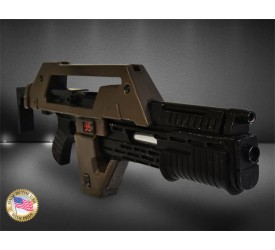 Aliens Replica 1/1 Pulse Rifle Brown Bess Weathered Version 68 cm