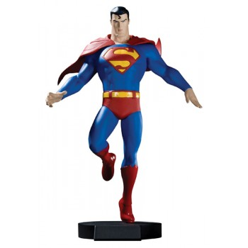 All Star Superman DVD Maquette Superman 23 cm