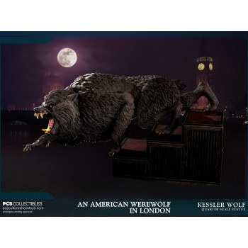 An American Werewolf in London Kessler Wolf 1/4 Scale Statue 55 cm