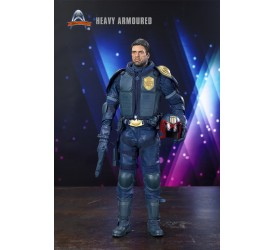 Art Figures 1/6 Heavy Armoured Special Cop blue Limited Edition