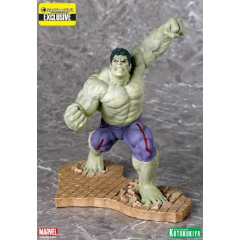 Avengers Age of Ultron ARTFX+ PVC Statue 1/10 Rampaging Hulk EE Exclusive 24 cm