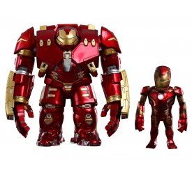 Avengers Age of Ultron Artist Mix Bobble-Heads Hulkbuster and Battle Damaged Iron Man 20 cm