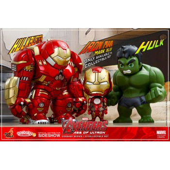 Avengers Age of Ultron Cosbaby Mini Figures Series 1.5 Box Set 14 cm