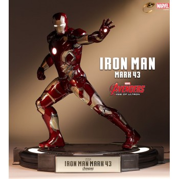 Avengers Age of Ultron Iron Man Mark 43 Cinemaquette 64 cm