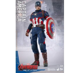 Avengers Age of Ultron Movie Masterpiece Action Figure 1/6 Captain America 31 cm