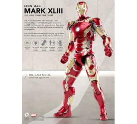 Avengers AoU Mark 43 Iron Man 1/12 Diecast Figure