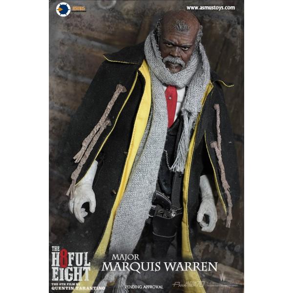 Head Major Marquis Warren Asmus Action Figures 1//6 Scale