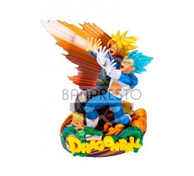 Dragonball Super Super Master Stars Piece Figure Vegeta and Trunks 20 cm