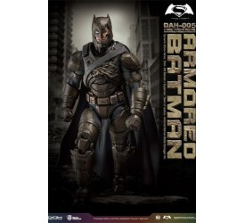 Batman v Superman Dynamic 8ction Heroes Action Figure 1/9 Armored Batman Battle Damage Version 20 cm