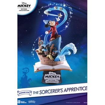 Mickey Beyond Imagination D-Stage PVC Diorama The Sorcerer's Apprentice 15 cm