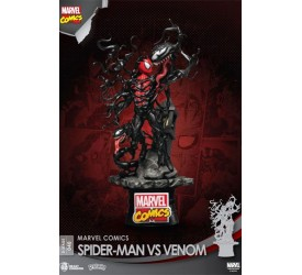 Marvel Comics D-Stage PVC Diorama Spider-Man vs Venom 15 cm