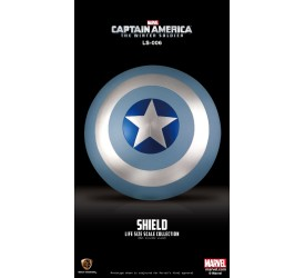 Marvel Captain America Winter Soldier Vibranium Shield Winter Soldier Edition Life Sized Replica