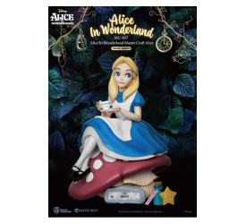 Alice In Wonderland Master Craft Statue Alice 36 cm