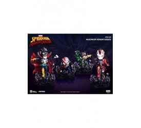 Marvel Maximum Venom Collection Mini Egg Attack Figure Bundle Set 8 - 14 cm