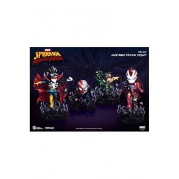 Marvel Maximum Venom Collection Mini Egg Attack Figure Bundle Set 8 - 14 cm