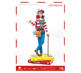 Where's Wally? Mega Hero Action Figure 1/6 Wally 34 cm