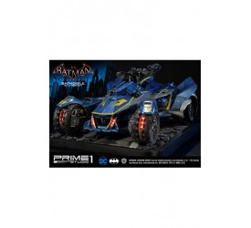 Batman Arkham Knight Diorama 1/10 Batmobile 1970 Skin Version 66 cm