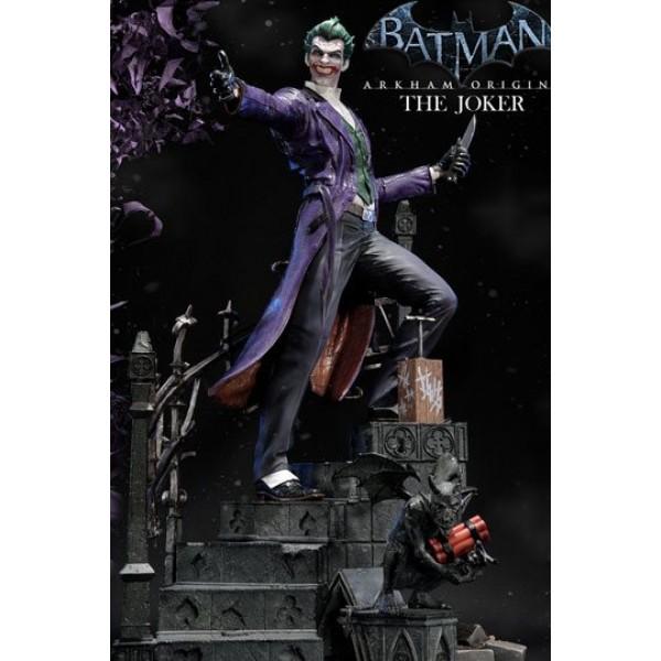 Batman arkham origins statue the joker 86 cm voltagebd Image collections