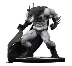 Batman Black and White Statue Sam Kieth 14 cm