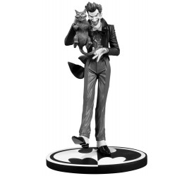 Batman Black and White Statue The Joker Brian Bolland 23 cm