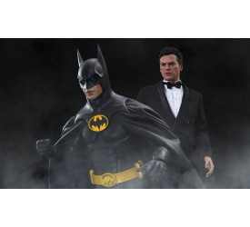 Batman Returns Movie Masterpiece Action Figure 2-Pack 1/6 Batman and Bruce Wayne 32 cm