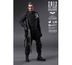 Batman The Dark Knight Movie Masterpiece Action Figure 1/6 Jim Gordon SWAT Version Exclusive 30 cm