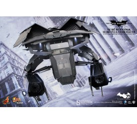 Batman The Dark Knight Rises Movie Masterpiece Compact Action Figure 1/12 The Bat Deluxe Edition