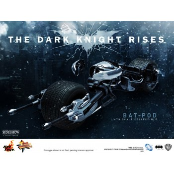 Batman The Dark Knight Rises Movie Masterpiece Vehicle 1/6 Bat-Pod 64 cm