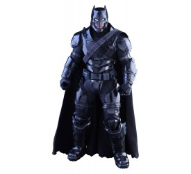 Batman vs Superman Dawn of Justice MMS Action Figure 1/6 Armored Batman Black Chrome Version 33 cm