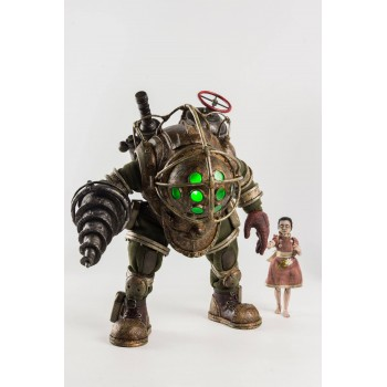 BioShock Action Figure 2-Pack 1/6 Big Daddy and Little Sister 32 cm