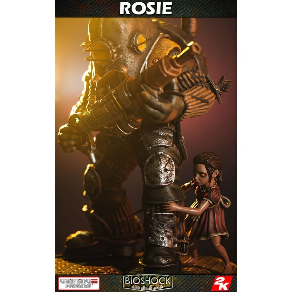 BioShock Infinite Statue 1/4 Big Daddy Rosie 53 cm