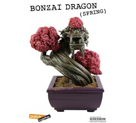 Bonsai Dragon Statue Spring 25cm