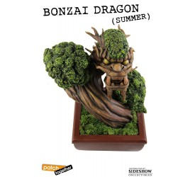 Bonsai Dragon Statue Summer 25 cm