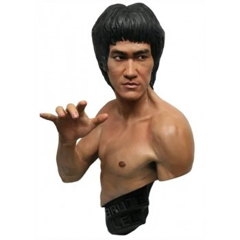 Bruce Lee Lifesize Bust Traditional Black Version